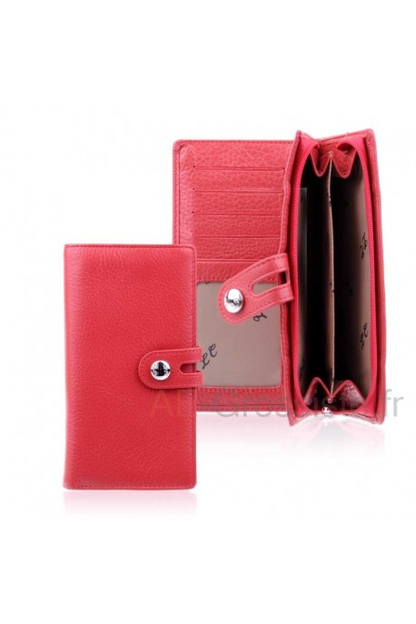 Leather oarganizer wallet LC CHL918