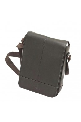 450 036 Men's Leather Cross body bag