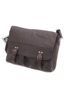 DAVIDT'S 450430 Leather messenger bag