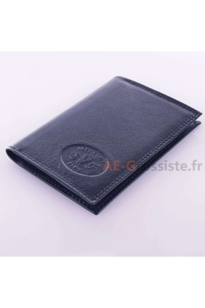 """La Sellerie Française"" SF6006A-LS Leather card holder"