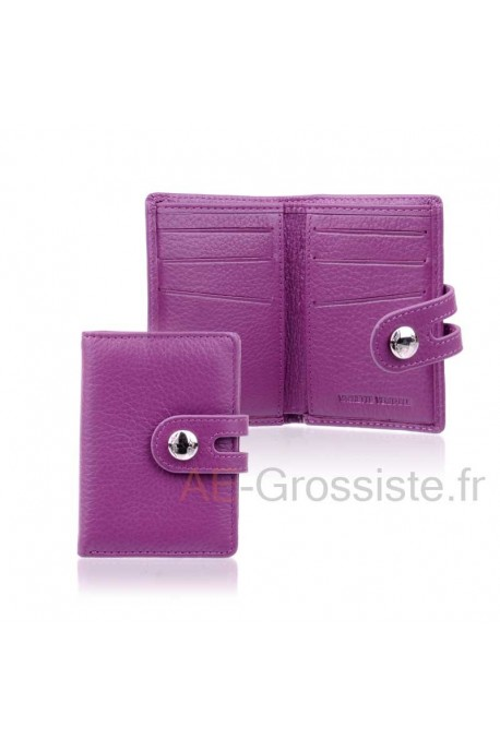 Leather card holder LC CHL905