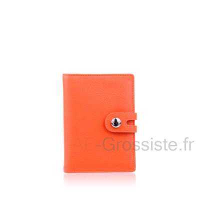 Portefeuille cuir 3 voilets LC CHL802A