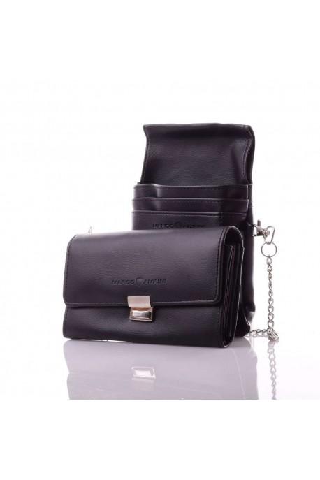 0300-750 Portefeuille spécial serveur avec fourre-tout ceinture