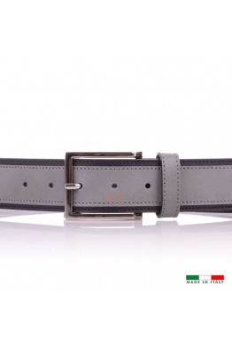 F568 Women's leather Belt - Gray