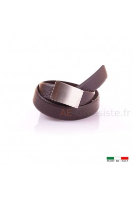 F560 Leather belt - Brown