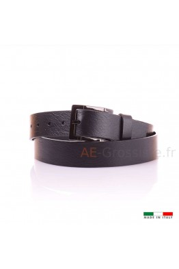 14297 Leather belt Black
