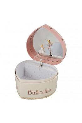 """Boîte à musique Trousselier """"Ballerina coeur"""" S30111"""