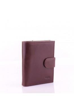 FA335 Porte-monnaie à fermoir cuir Fancil