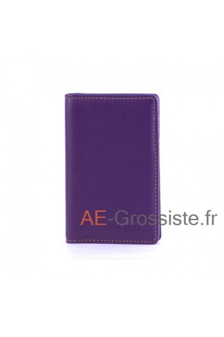 Leather Card Holder multicolor Fancil FA912