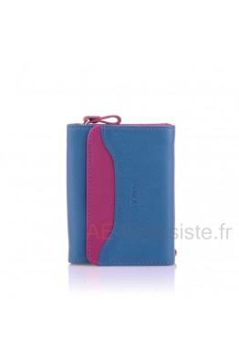 Leather purse multicolore Fancil A8308