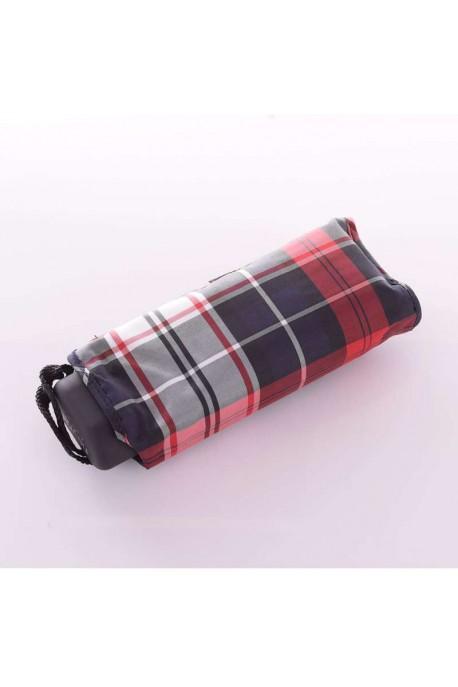 353 Parapluie Neyrat manuel ecossais rouge/noir