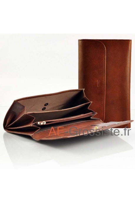 Leather Oragnizer Wallet Spirit 6614