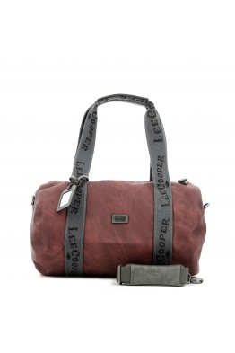 """LC-955103 Sac devoyage polochon synthétique """"Hobo"""" Lee Cooper"""