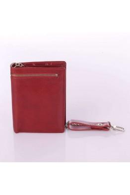 Portefeuille avec chaîne cuir Spirit 6549 Rouge