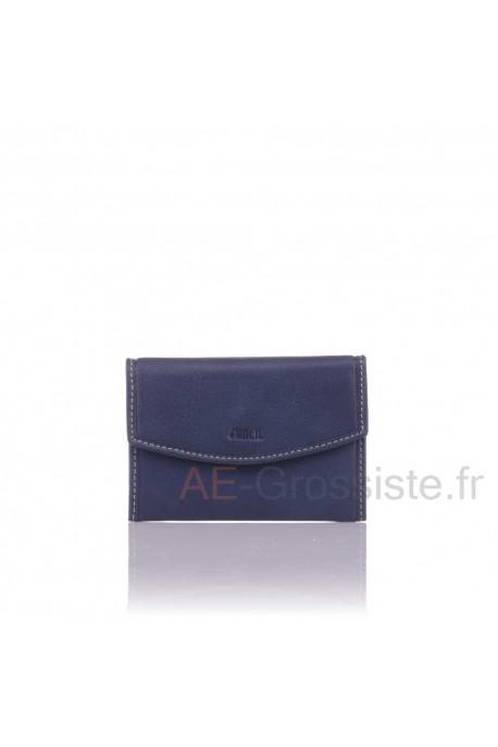 Porte-monnaie cuir Fancil SA909