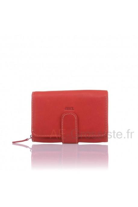 Porte-monnaie cuir Fancil SA904