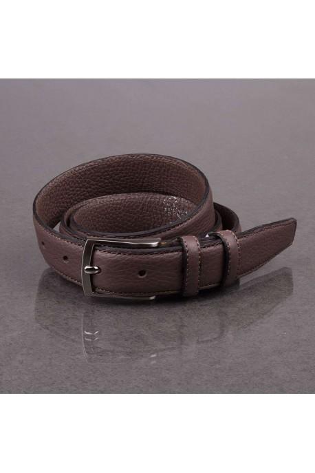 italian NOS021 brown leather belt
