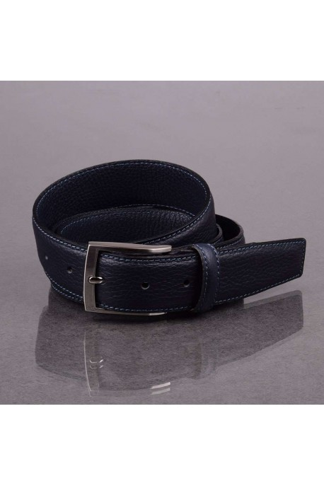 italian NOS020 dark blue leather belt
