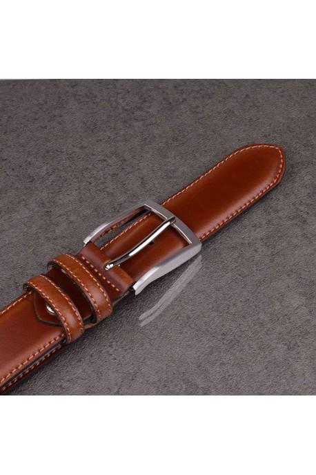 italian NOS004 brown leather belt