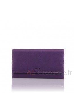 Leather organizer wallet Fancil SA910
