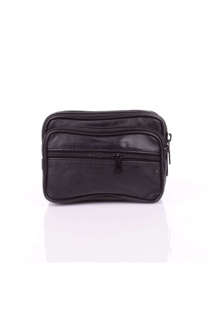 AG250 lamb leather belt pouch