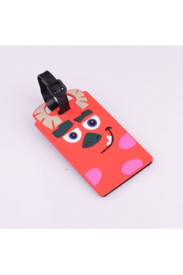 red monster edb001 suitcase etiquette