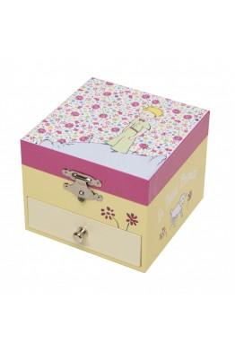 """Boîte musique Trousselier cube tiroir"""" Petit Prince"""" s20231"""