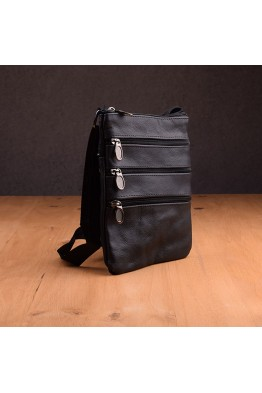 9823 lamb leather reporter bag