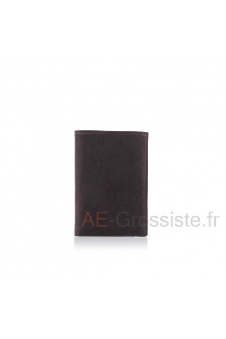 Nubuck leather wallet SPIRIT B5805
