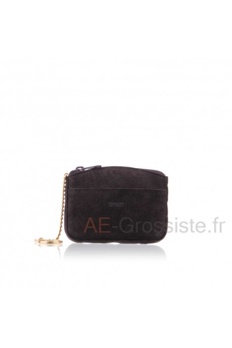 Nubuck leather purse SPIRIT B5760