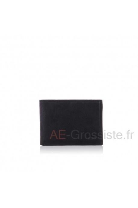 Nubuck leather wallet SPIRIT B5706
