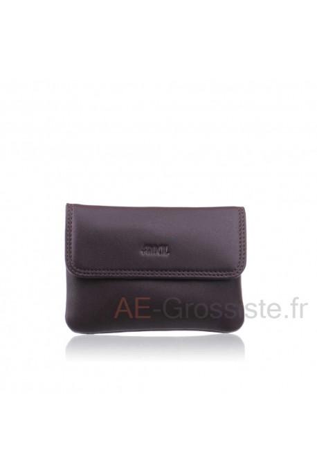 Leather purse cuir Fancil FA204