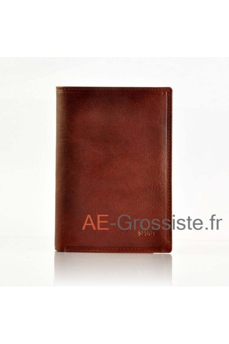 Leather Wallet Spirit 6881