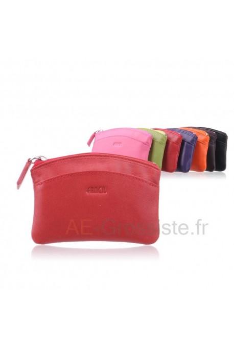 Leather purse cuir Fancil FA207