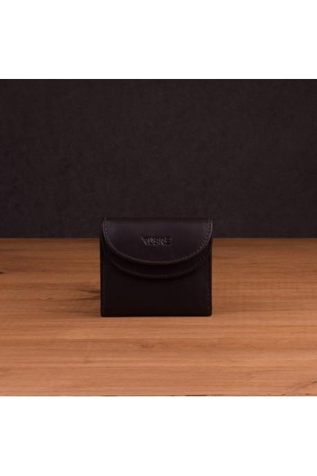 Porte-monnaie en cuir souple RUBRE® - R406SI marron