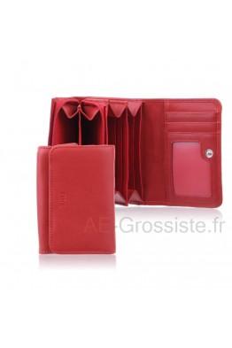 Porte-monnaie cuir Fancil FA208