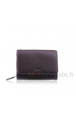 Leather purse Fancil FA208