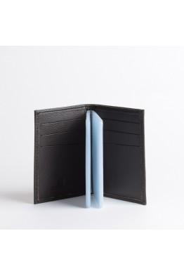 ZEVENTO 467762 Porte-carte cuvette en cuir de vachette