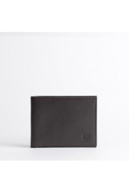 ZEVENTO 467761 Porte-monnaie cuvette en cuir de vachette