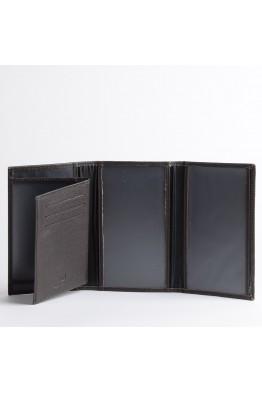 ZEVENTO 467769 Etui pour papier véhicule en cuir de vachette