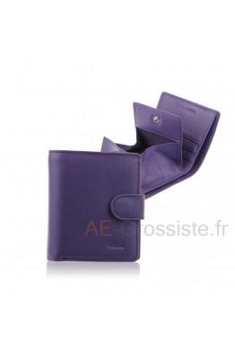 Porte-monnaie cuir Fancil FA211