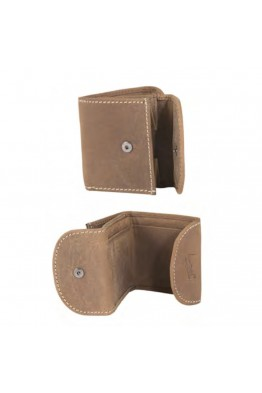 Porte-monnaie/billet en cuir LUPEL® - L406AV