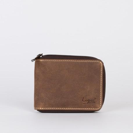 Portefeuille en cuir LUPEL® - L543AV