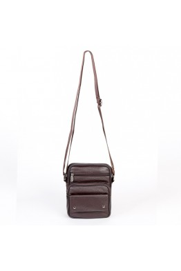 KJ772 Leather reporter bag