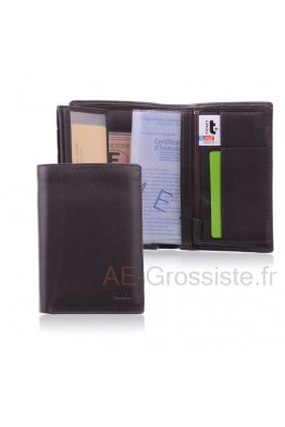 Leather Wallet Fancil FA217