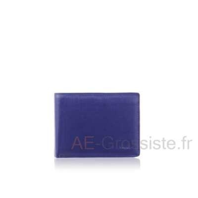 Portefeuille cuir format italien Fancil FA221