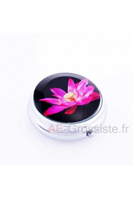 Water lily pill box