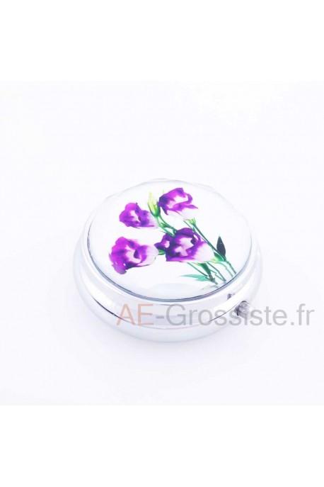 Violet pill box