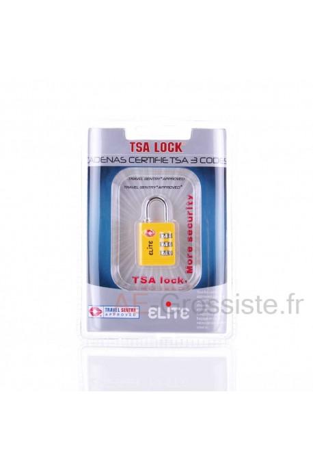Cadena à code TSA Elite LK001 Jaune