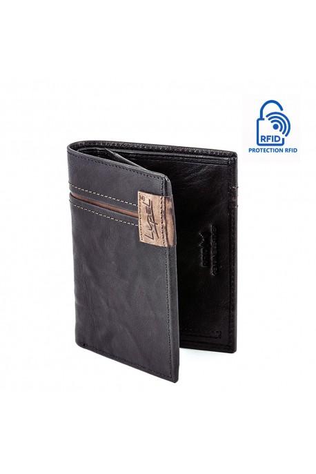 LUPEL AGRESTE L628AG Portefeuille en cuir Protection RFID